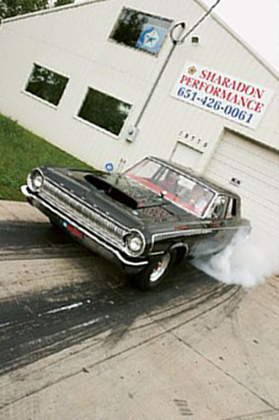 Burnout In SharaDon Performance Driveway